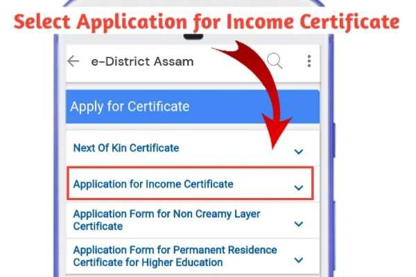 Income Certificate Assam - Online Apply, Download PDF